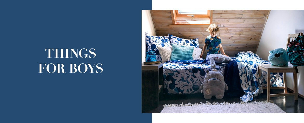 THINGS FOR BOYS | home&you