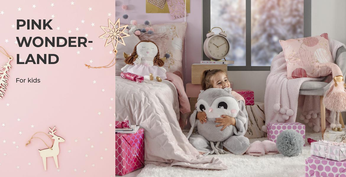 PINK WONDERLAND for kids z home&you