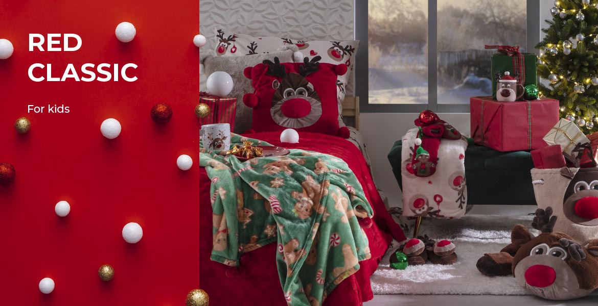 RED CLASSIC for kids w home&you