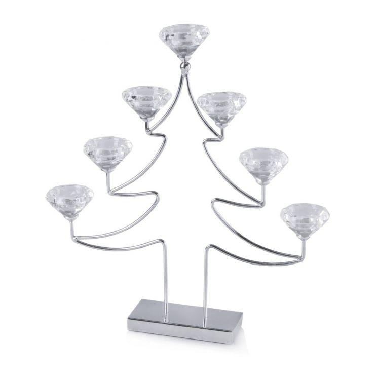 Świecznik Diamonds Tree
