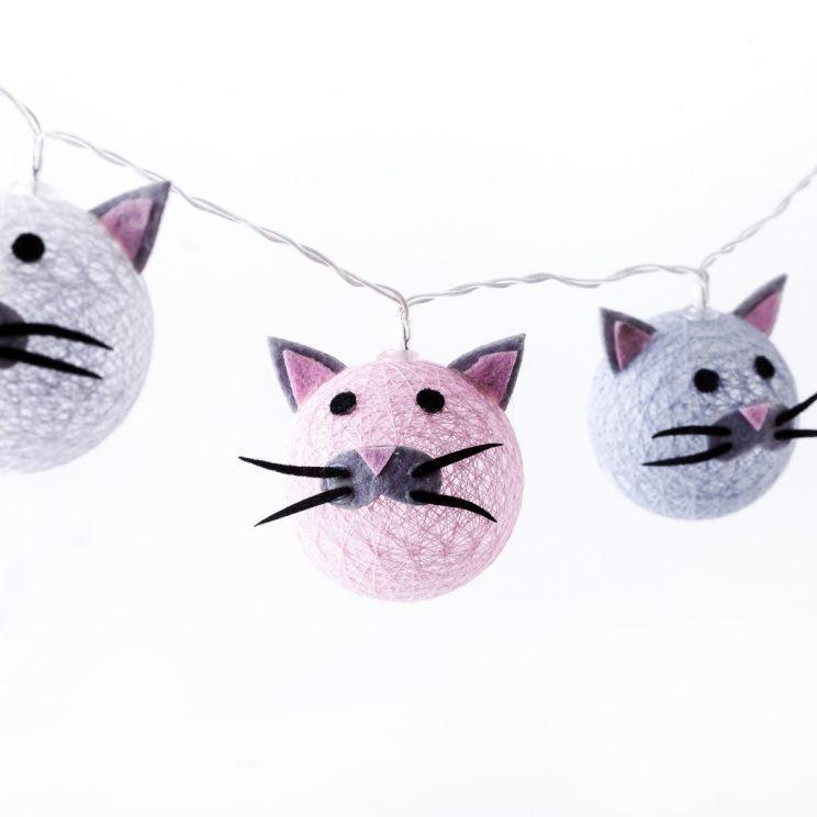 Łańcuch Świecący Frippi Cats