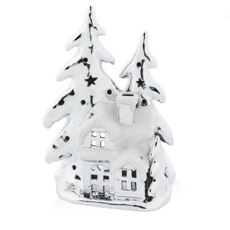 Świecznik Snowy Village