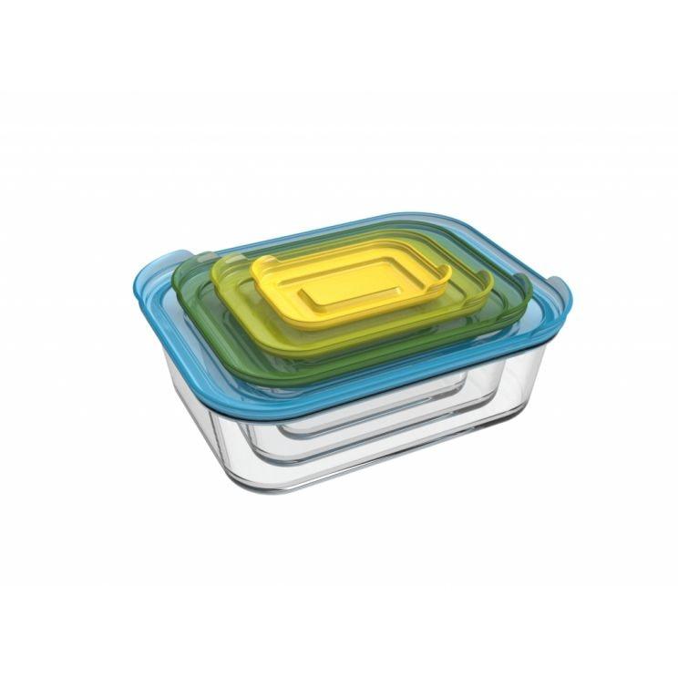 Komplet Pojemników Nest Glass Storage