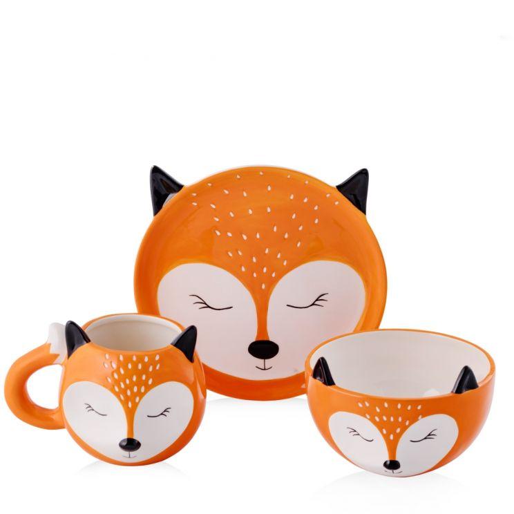 Zastaw Śniadaniowy Mrs Fox