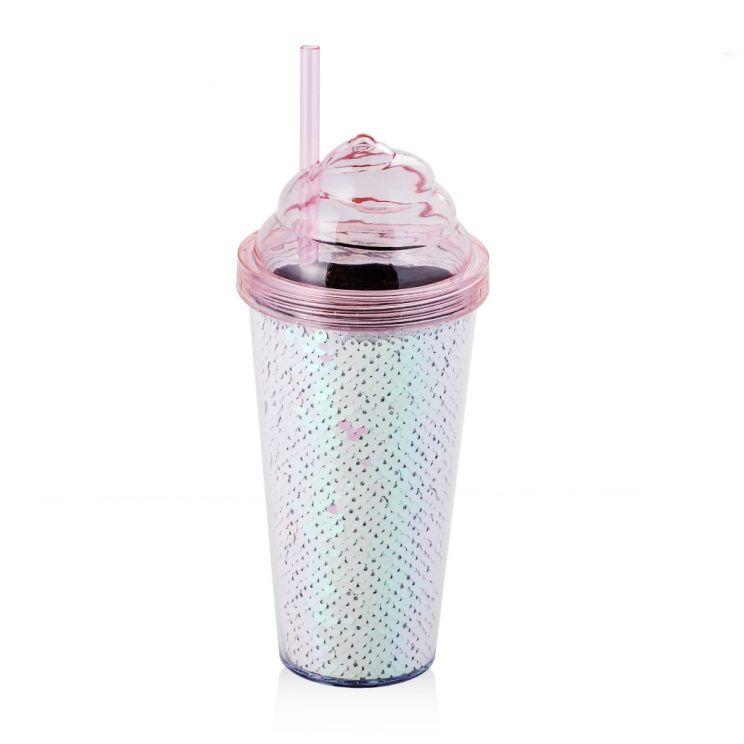 Kubek Ze Słomką Ice Cream