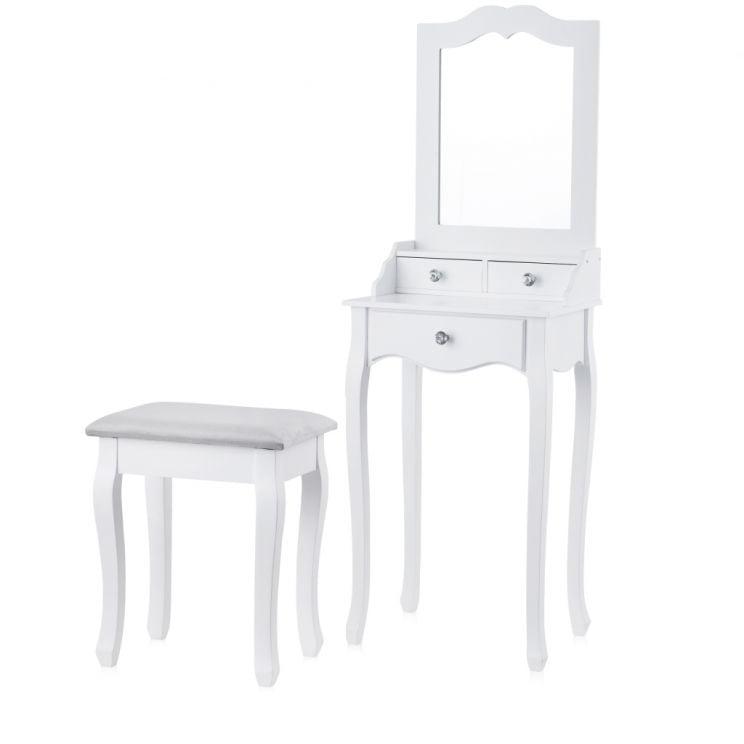 Toaletka Ze Stołkiem Hemam