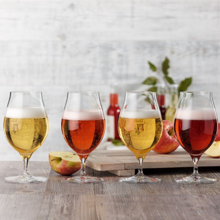 Komplet 4 Szklanek Cider Glass