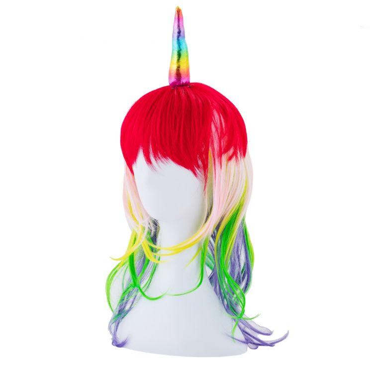 Peruka Unicorn Hair