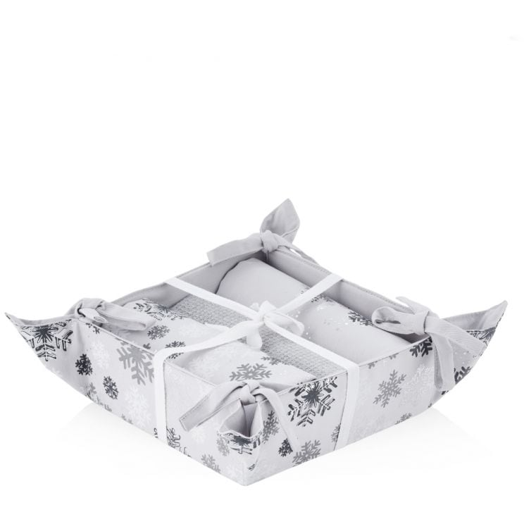 Koszyk Ze Ścierkami Snowball 2