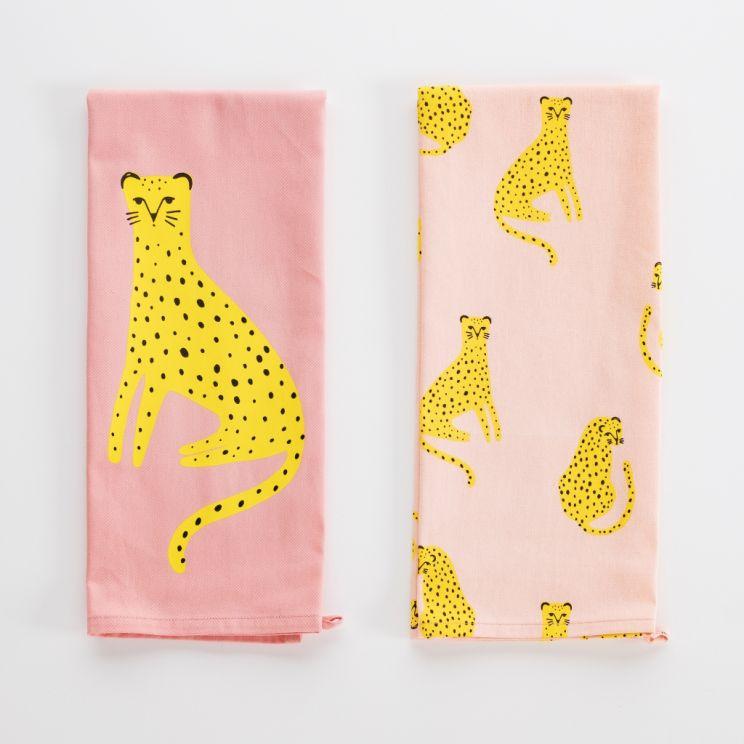 Komplet Ścierek Cheetahs