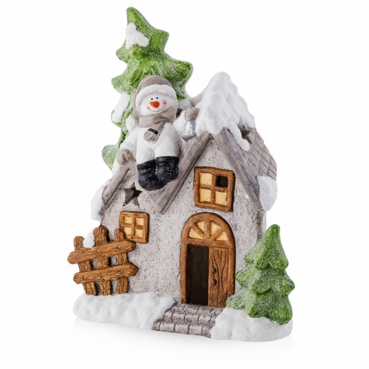 Figurka LED Christmaslodge