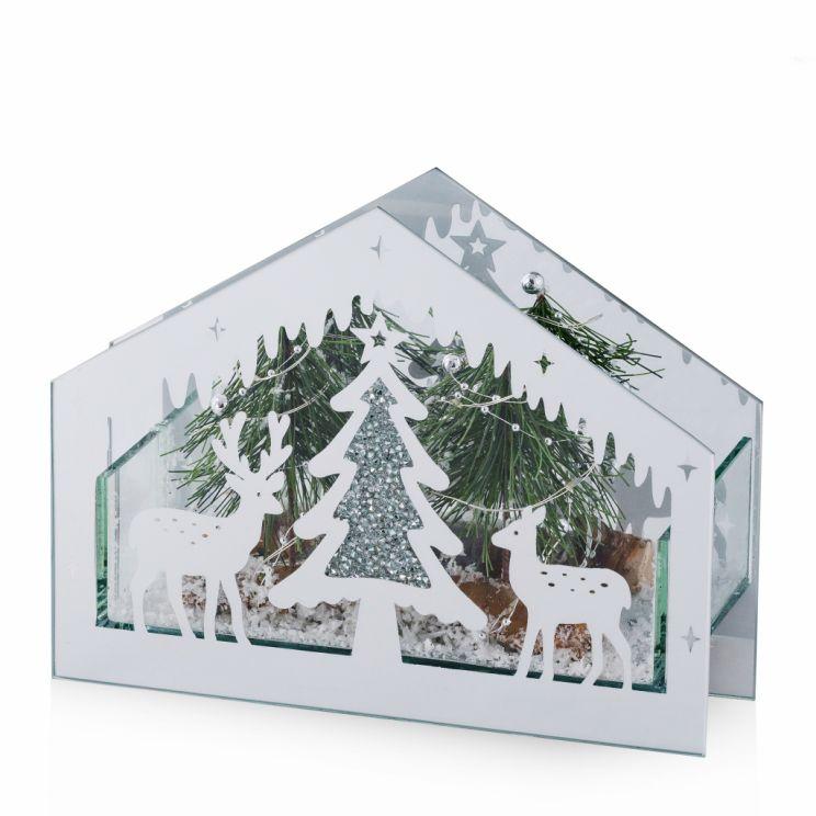 Dekoracja LED Foresthouse