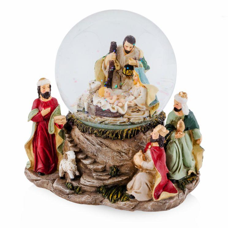 Kula Śnieżna Xmasfamily