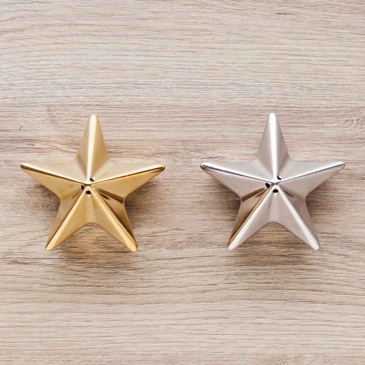 Solniczka I Pieprzniczka Wooden Star