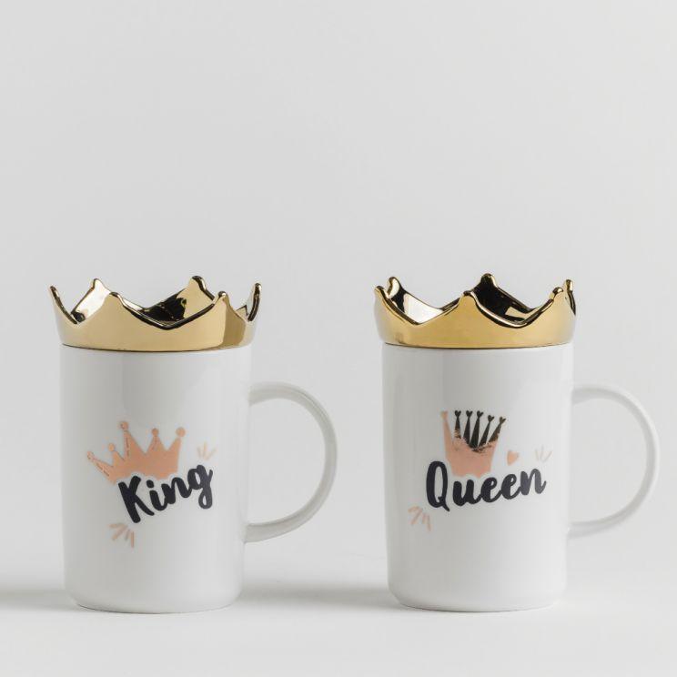 Komplet Kubków Kings&Queens
