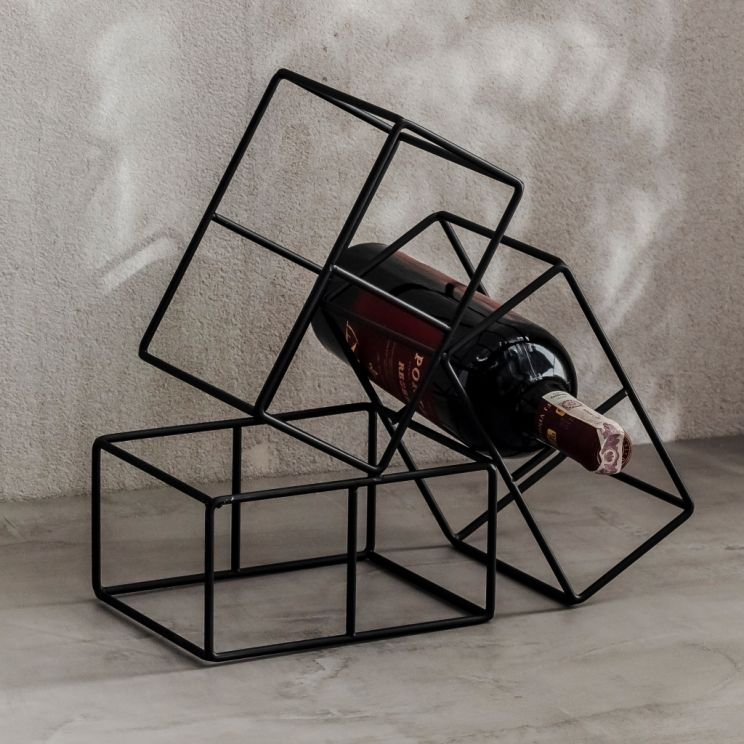 Stojak Na Wino Geometrico