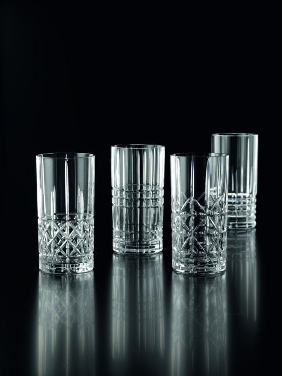 Komplet 4 Szklanek Do Drinków Highland Longdrink