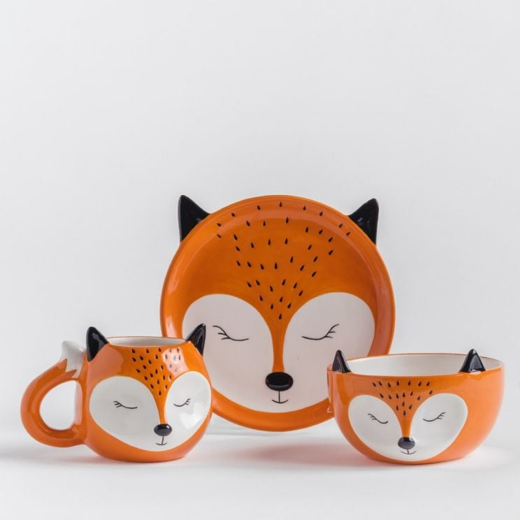 Zestaw Śniadaniowy Mrs Fox