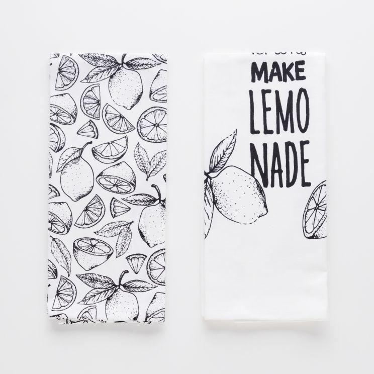 Komplet Ścierek Lemonic