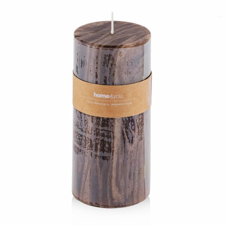 Wooden Candle