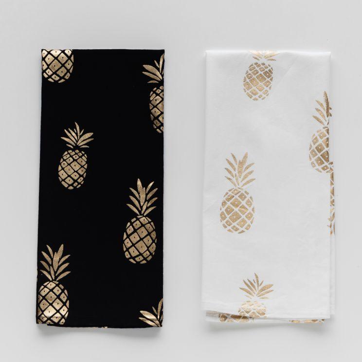 Komplet Ścierek Ananas
