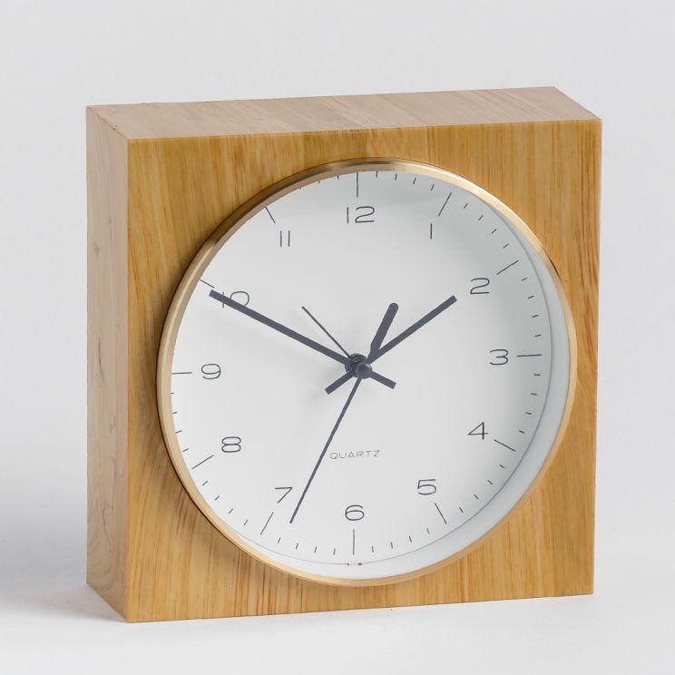 Zegar Stołowy Sans Wooden