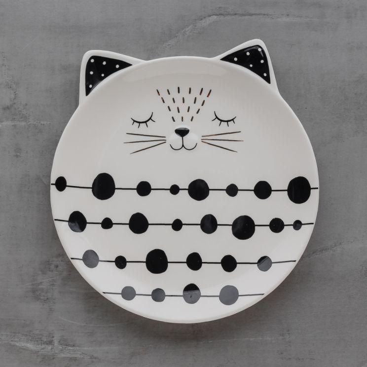 Talerz Deserowy Modern Cat