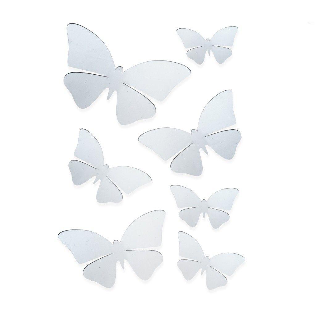 Komplet Naklejek Papillons