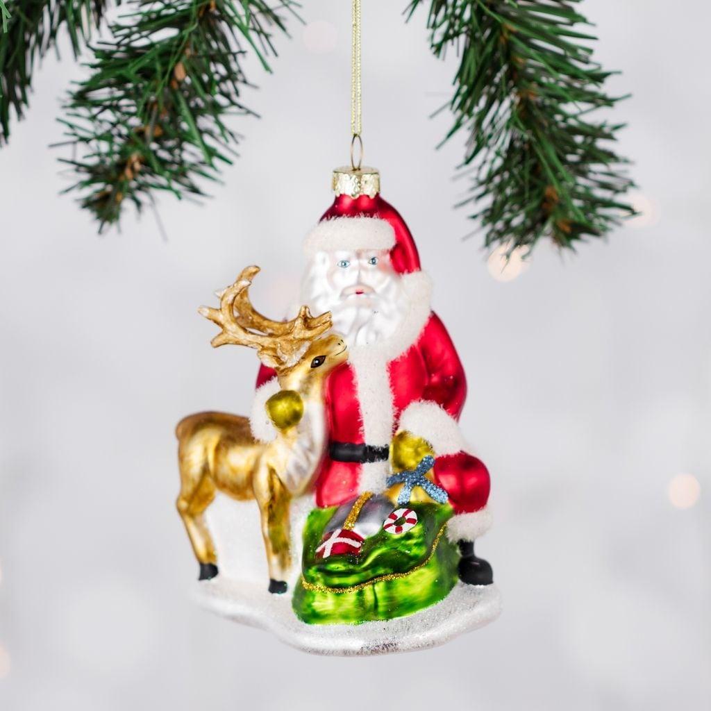 Bombka-choinkowa-w-kształcie-mikołaja-proste-ozdoby-świąteczne